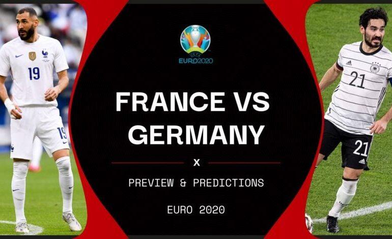 Euro2020: Γαλλία- Γερμανία