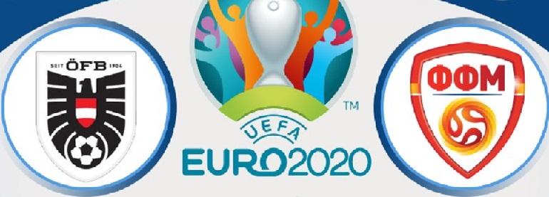 Euro2020: Αυστρία – Σκόπια