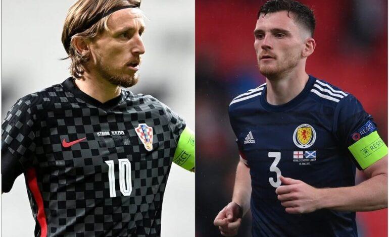 Euro 2020 : Κροατία-Σκωτία