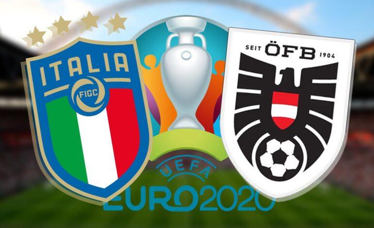 Euro2020:  Ιταλία- Αυστρία