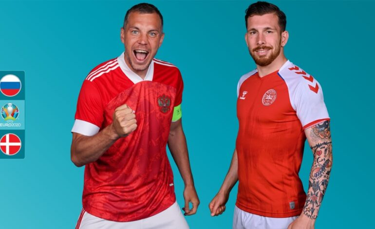 Euro2020 :  Ρωσία- Δανία