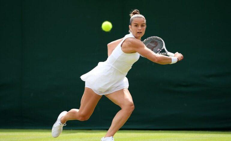 Wimbledon:Μαρία Σάκκαρη – Αράντξα Ρους