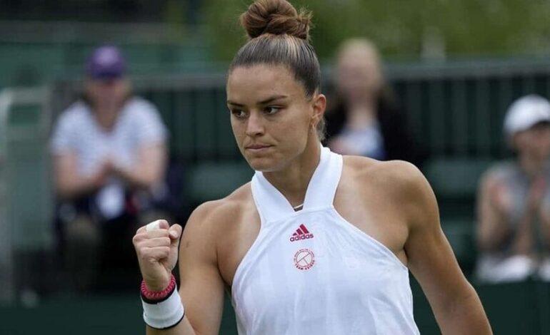 Wimbledon:Μαρία Σάκκαρη – Σέλμπι Ρότζερς