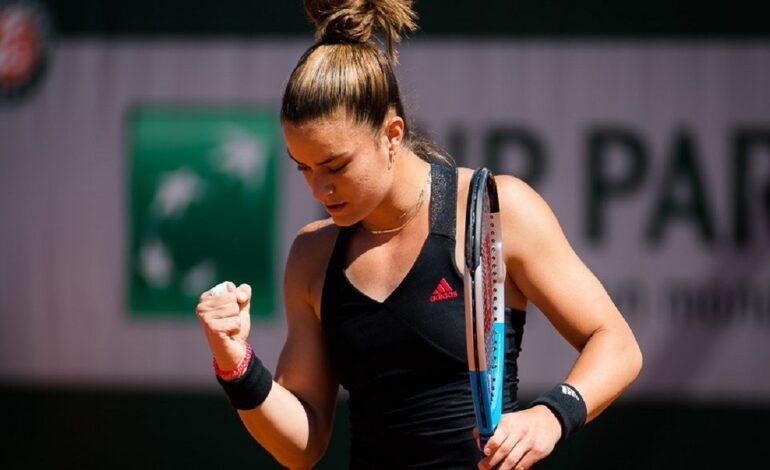 Roland Garros: Μαρία Σάκκαρη – Eλίς Μέρτενς