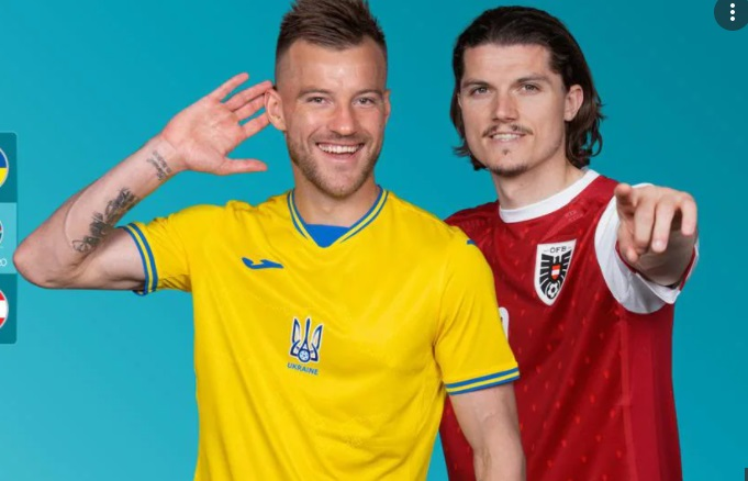 Euro 2020 : Ουκρανία-Αυστρία