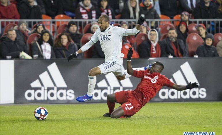 MLS: Νιου Ίνγκλαντ- Τορόντο