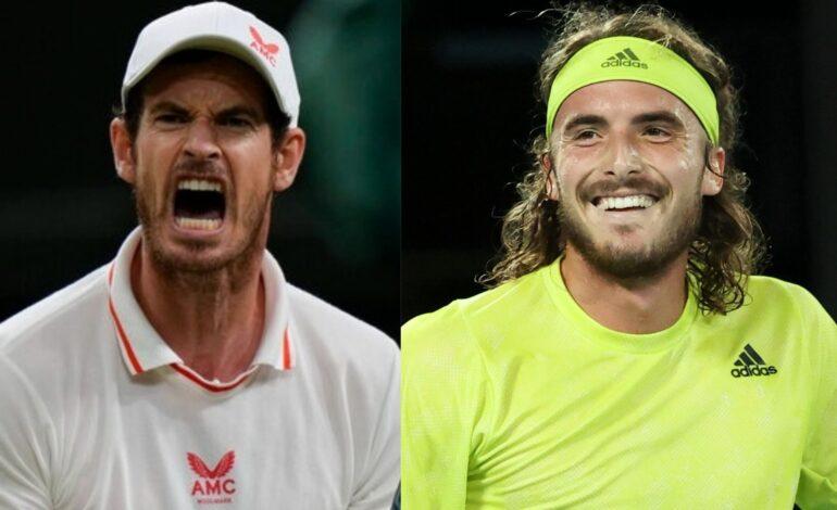 US Open:Άντι Μάρεϊ-Στέφανος Τσιτσιπάς