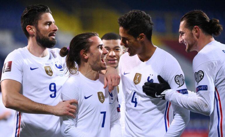Προκριματικά Μουντιάλ 2022 : Γαλλία- Βοσνία   4ος όμιλος