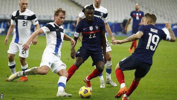 Προκριματικά Μουντιάλ 2022:  Γαλλία- Ουκρανία ( 4ος όμιλος)
