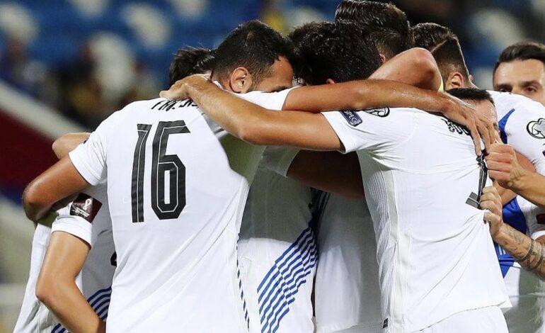 Προκριματικά Μουντιάλ 2022:  Ελλάδα-Σουηδία (2ος όμιλος )