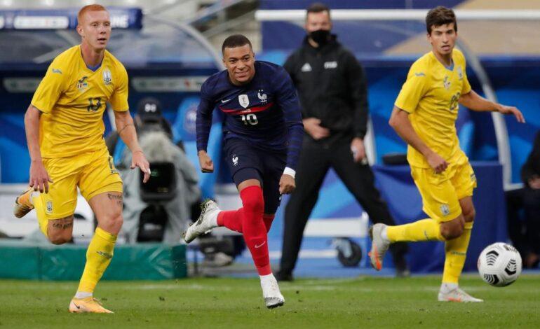 Προκριματικά Μουντιάλ 2022: Ουκρανία- Γαλλία ( 4ος όμιλος)